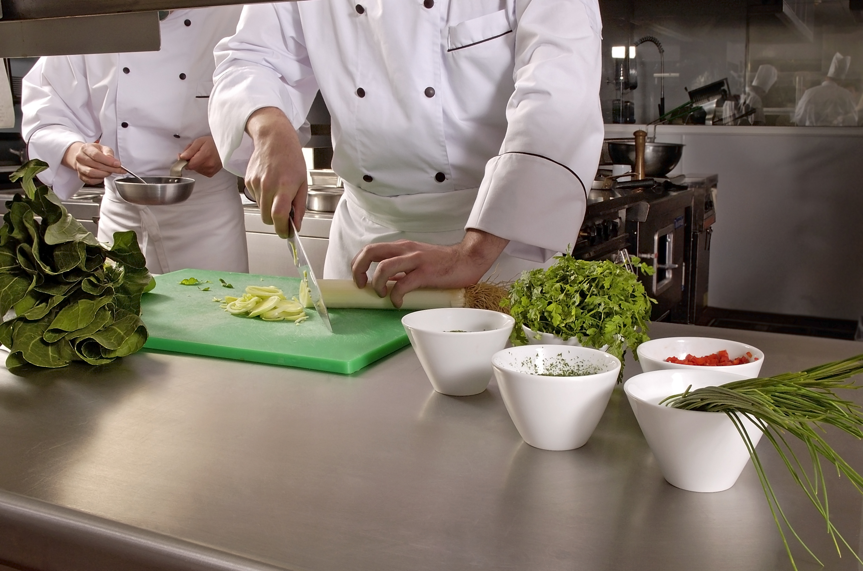Kitchen With Food basic food hygiene course - ems and associates health and safety